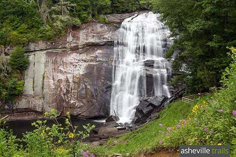 Waterfalls near Asheville, NC: our favorite hiking trails