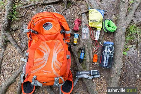 Hiking gear list: our favorite outdoor gear and apparel for hikes in western NC