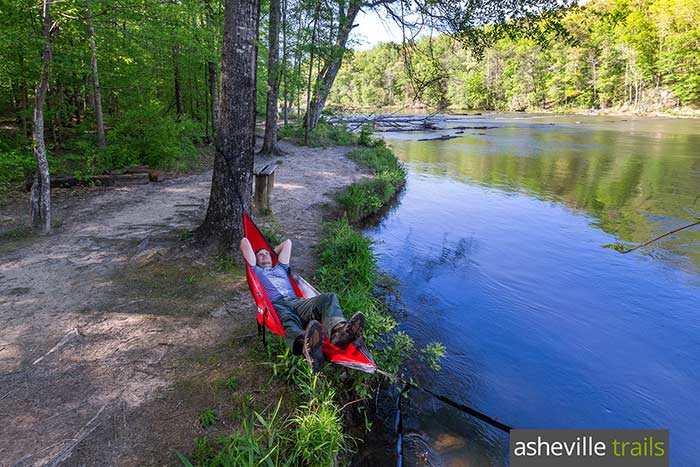 Hiking gear list: don't forget the hammock! Our ENO Doublenest hammocks are our favorite way to chill mid-hike