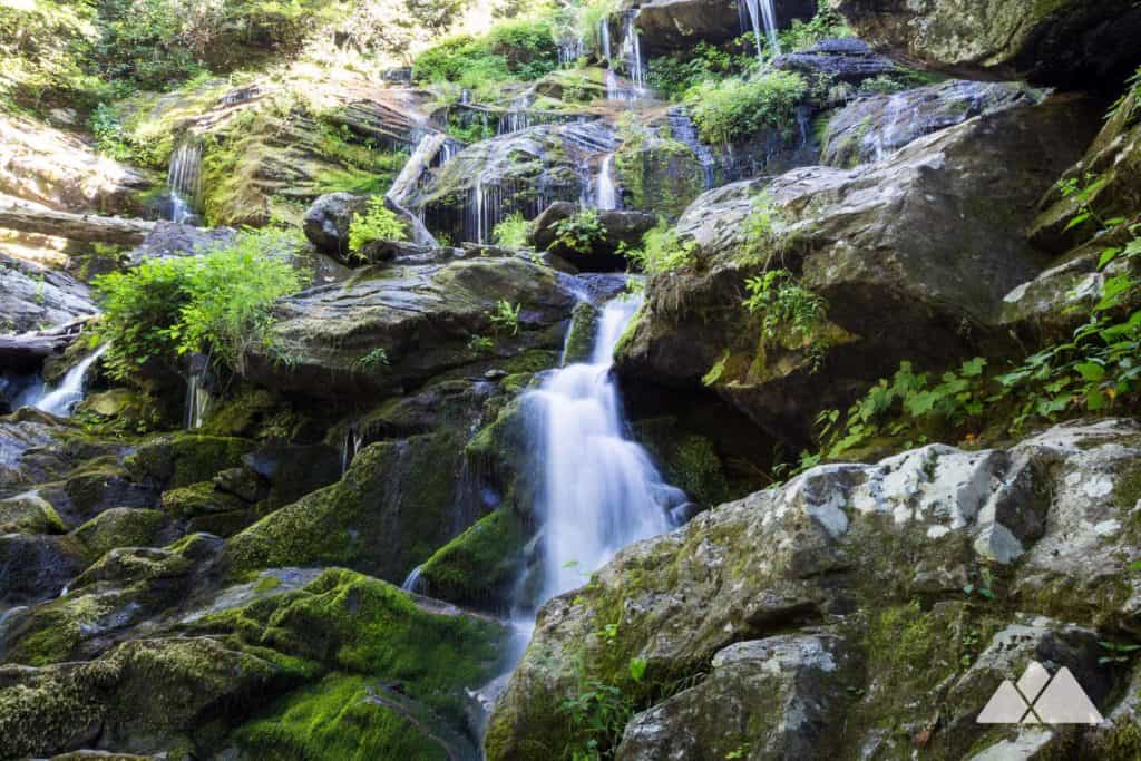Catawba Falls: hike to a stunningly beautiful waterfall near Asheville, NC