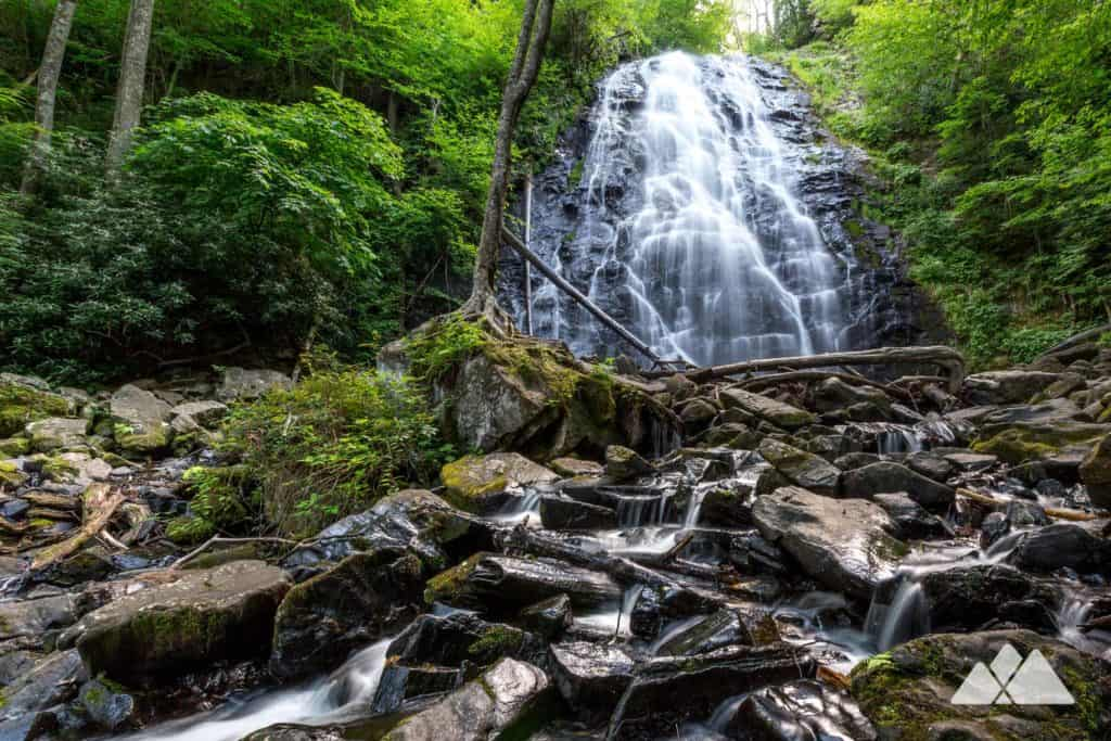 Hike the Crabtree Falls trail to one of North Carolina's most beautiful waterfalls