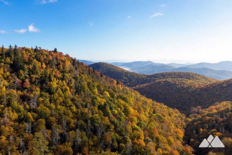 Best fall foliage hikes near Asheville and in the NC mountains