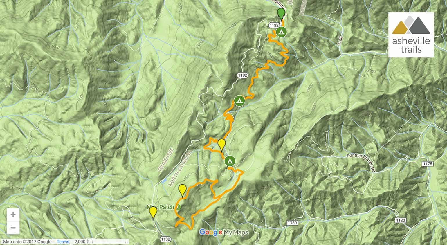 Appalachian Trail: Lemon Gap to Max Patch Mountain on map of florida, mount mitchell, shenandoah national park, map of university heights, blue ridge mountains, pacific crest trail, map of anna ruby falls, map of standing stone trail, skyline drive, great smoky mountains national park, map of ozark highlands trail, north country trail, clingmans dome, appalachian mountains, map of natchez trace trail, mount rogers, map of va creeper trail, brasstown bald, map of hunting, mount katahdin, map of national scenic trails, map of finger lakes trail, great smoky mountains, map of appalachia, continental divide trail, map of appalachian ohio, map of georgia, appalachian trail conservancy, blood mountain, map of arizona trail, springer mountain, map of tanawha trail, map of cumberland trail, map of billy goat trail, map of erie canalway trail, map of civil war trails, long trail, map of ruggles mine,