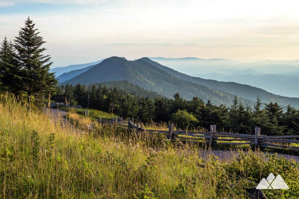Old Mitchell Trail and Camp Alice Loop at Mount Mitchell State Park