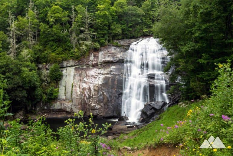 Rainbow Falls at Gorges State Park