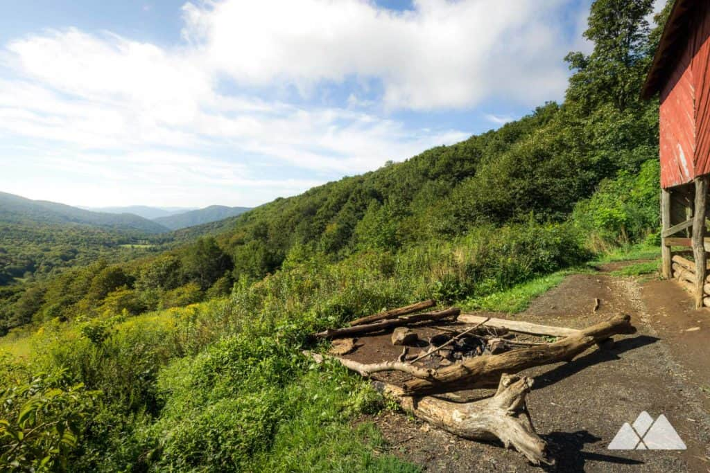 Hike through the Roan Highlands on the Appalachian Trail, catching stunning summit views and visiting a historic red barn, the Overmountain Shelter