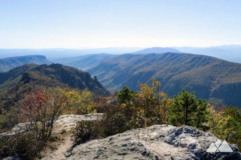 Table Rock Mountain at Linville Gorge