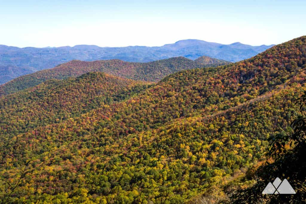 Albert Mountain: Appalachian Trail to Mooney Gap