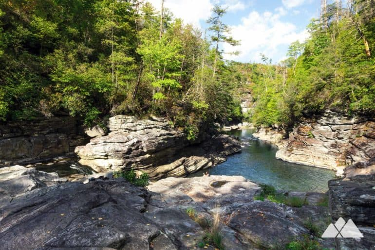 Babel Tower Trail at Linville Gorge