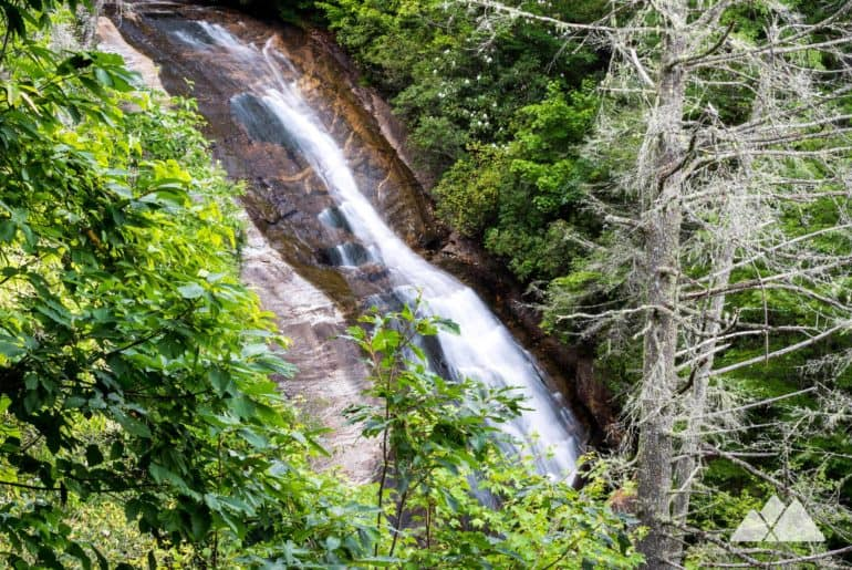 Bearwallow Falls Trail at Gorges State Park