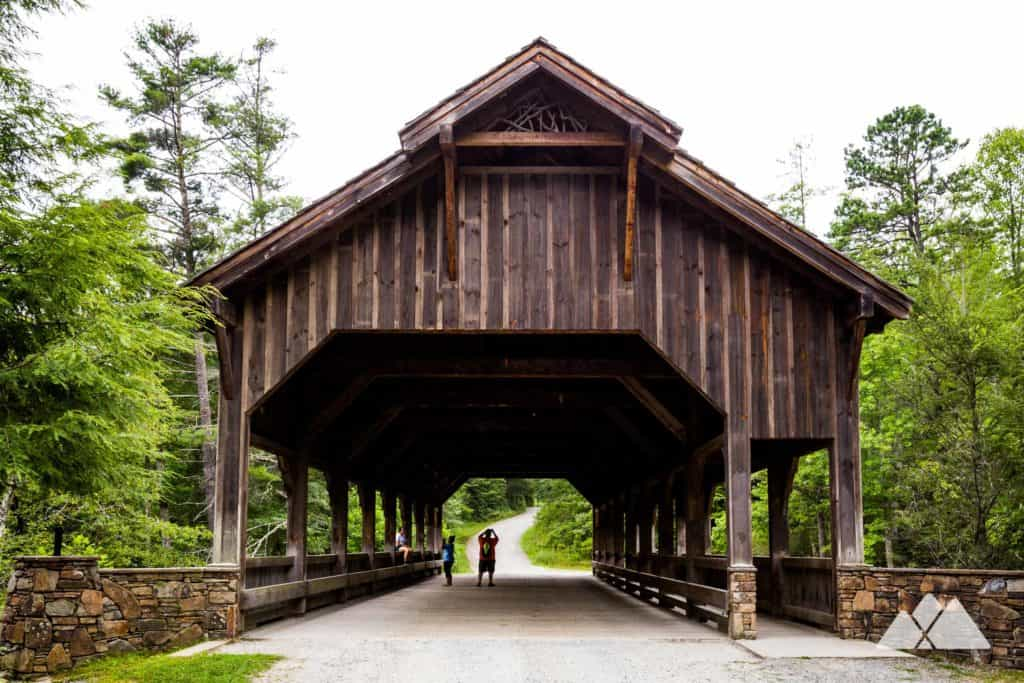 Covered Bridge at DuPont State Forest