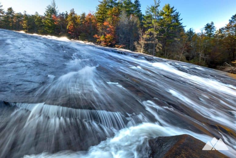 Bridal Veil Falls at DuPont State Forest