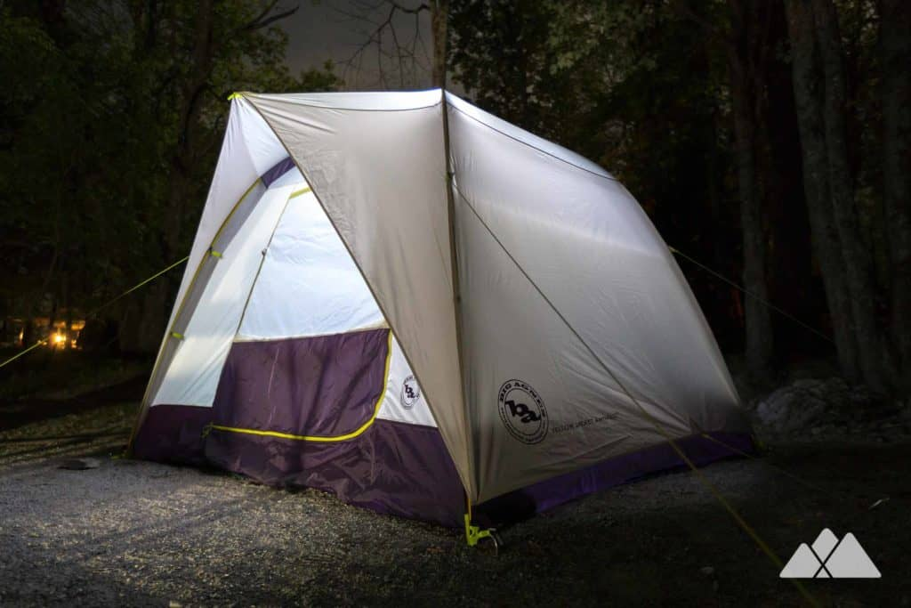 Our favorite car camping tents: the Big Agnes Yellow Jacket 4