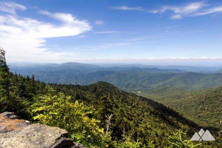 Carvers Gap to Roan High Knob