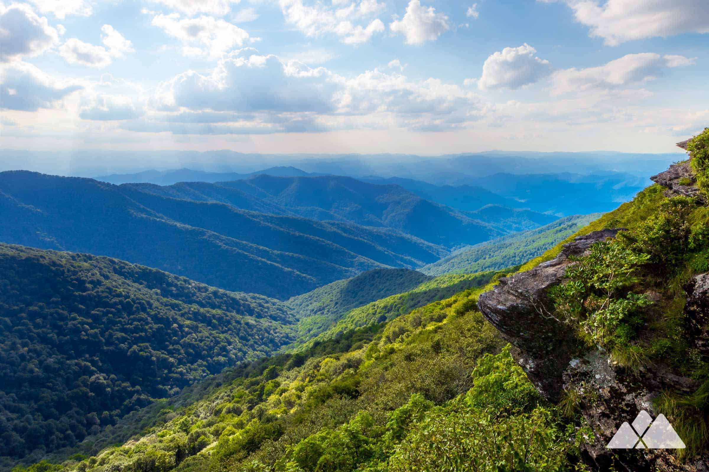 Craggy Pinnacle On The Blue Ridge Parkway Asheville Trails