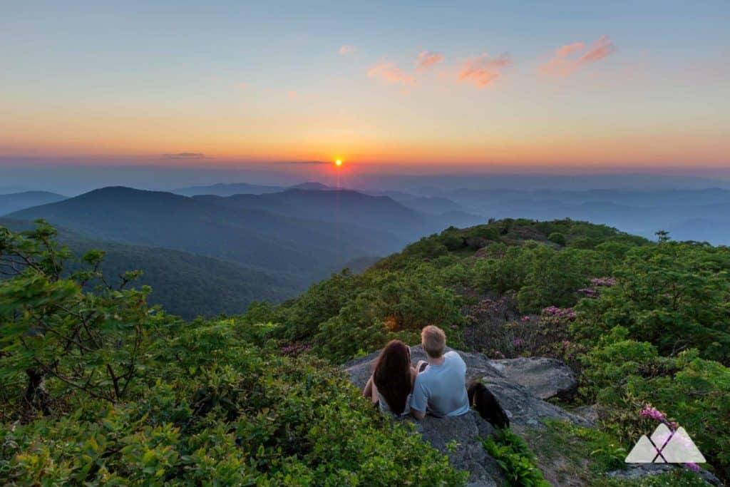 Craggy Pinnacle Sunset