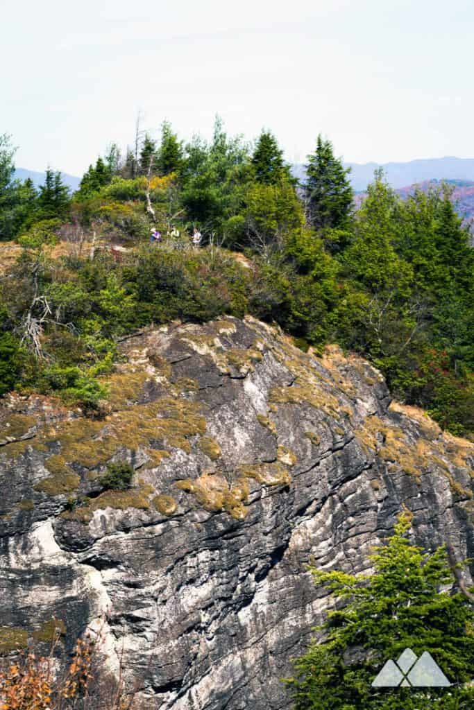 Devils Courthouse at Whiteside Mountain