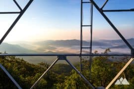 Fryingpan Mountain Tower on the Blue Ridge Parkway