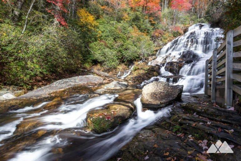 Glen Falls in Highlands, NC