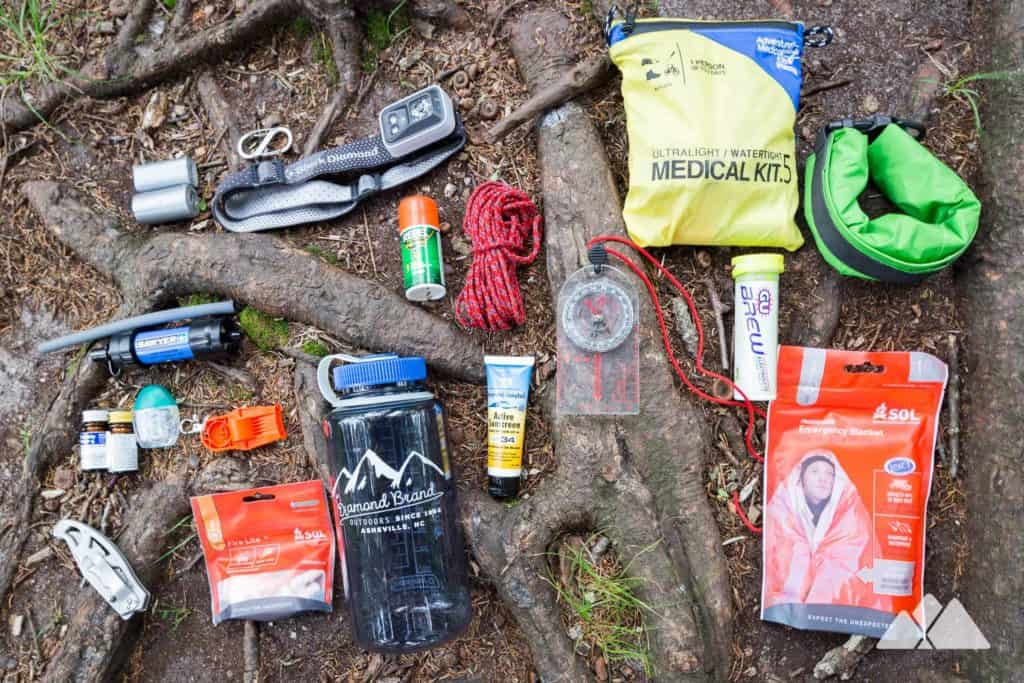 Hiking Gear List: essentials for a day hike near Asheville