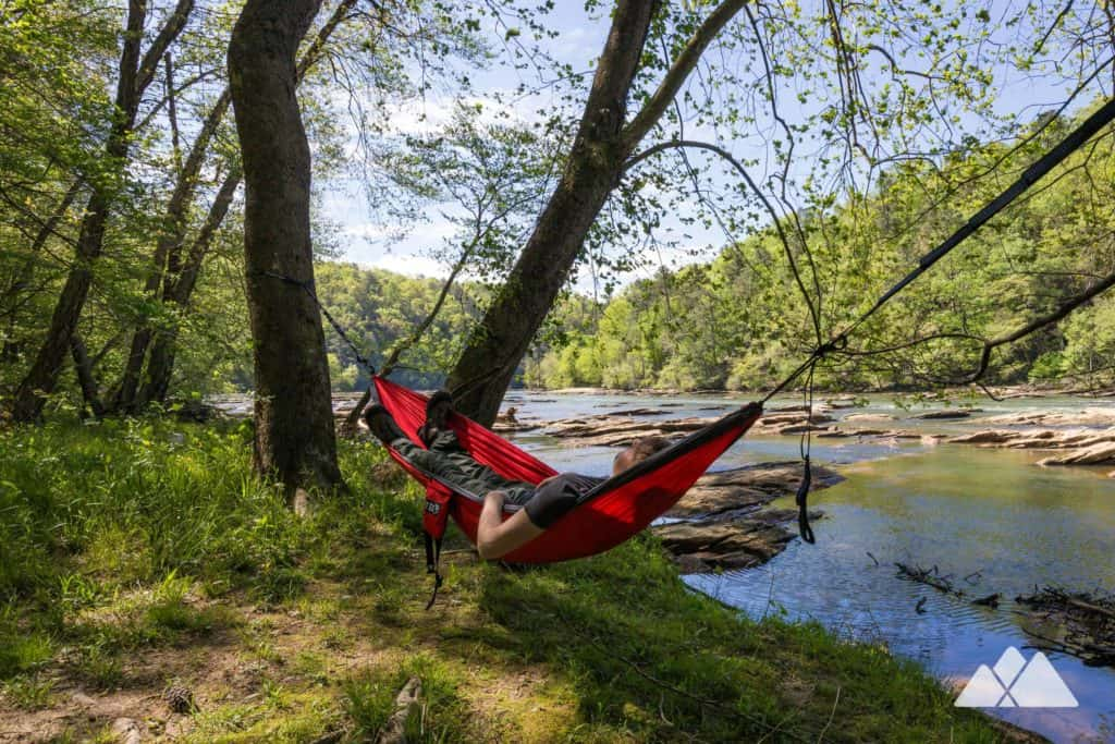 Hiking Gear List: pack a hammock