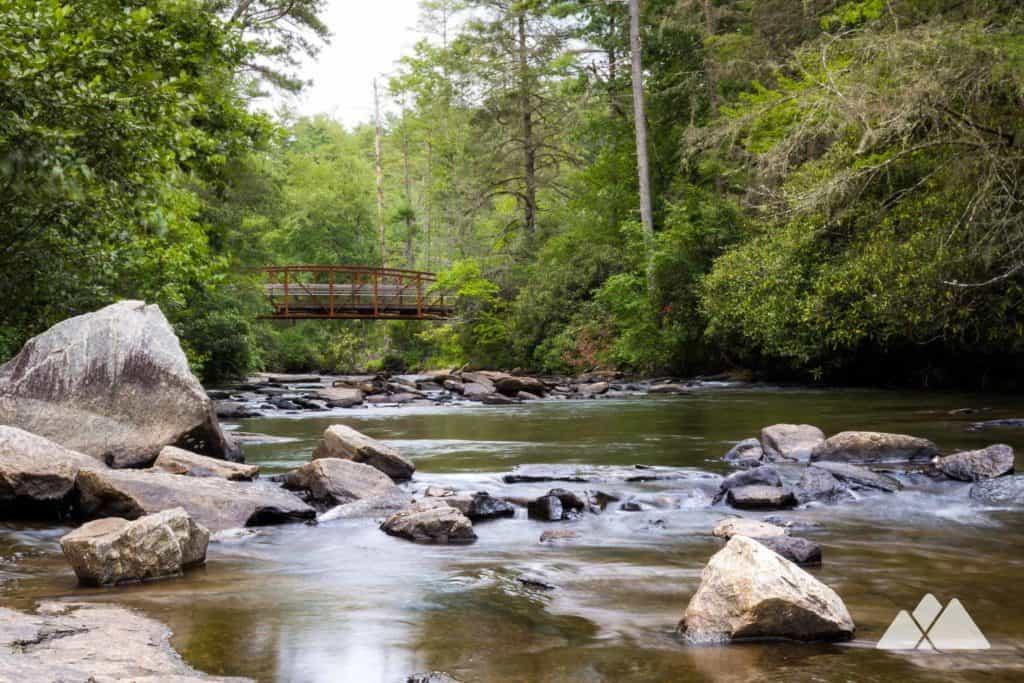 Hooker Falls at DuPont State Forest