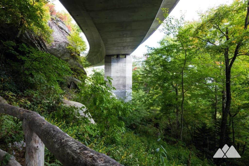 Linn Cove Viaduct on the Tanawha Trail