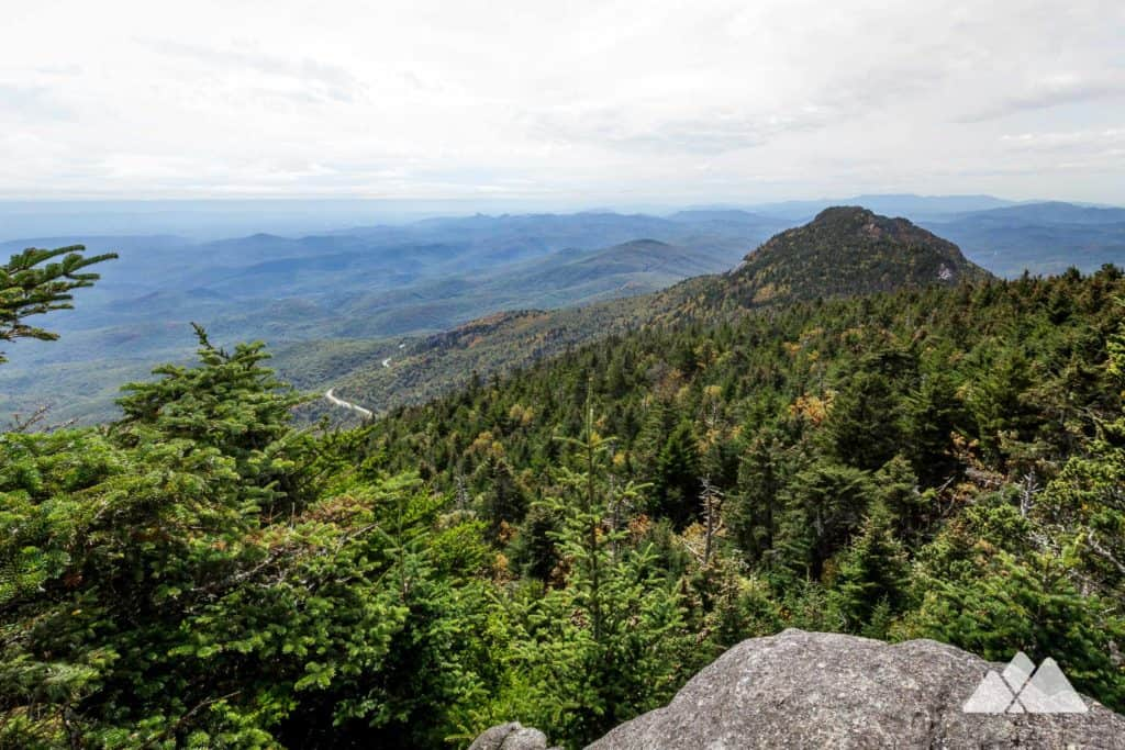 Profile Trail to Grandfather Mountain's Calloway Peak