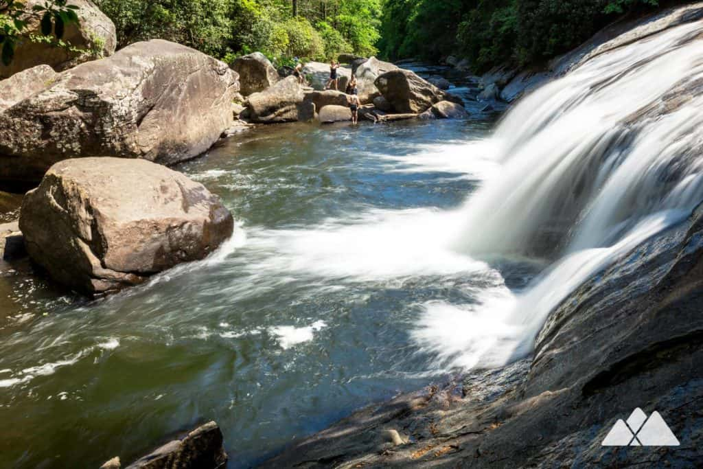 Turtleback Falls at Gorges State Park