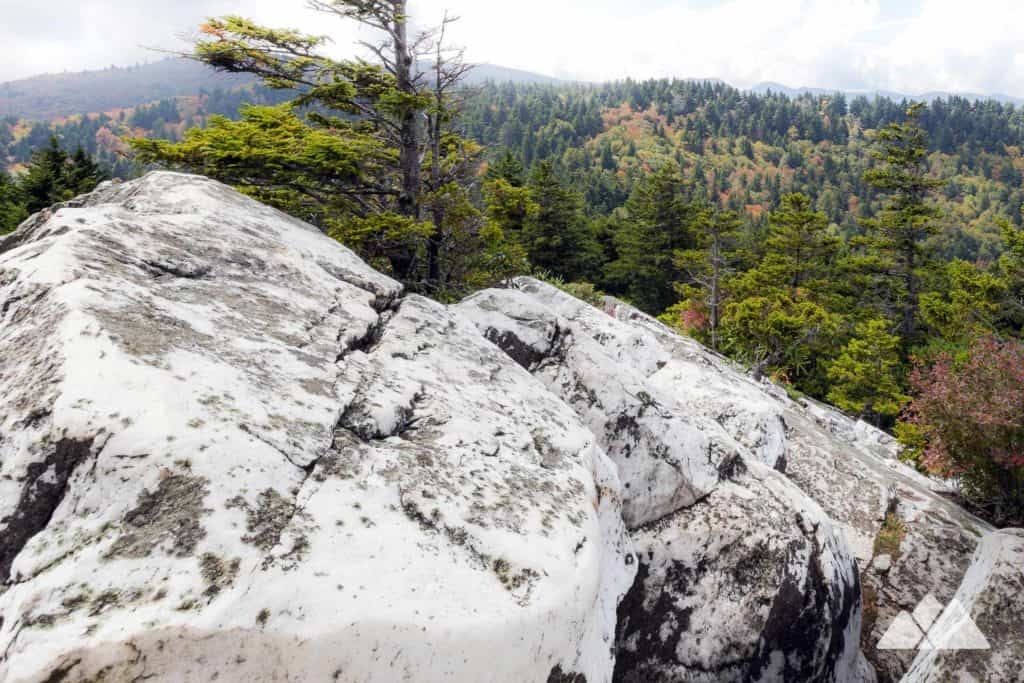 Shining Rock Mountain on the Art Loeb Trail