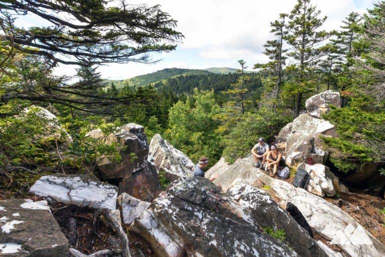 Shining Rock Mountain on the Art Loeb Trail