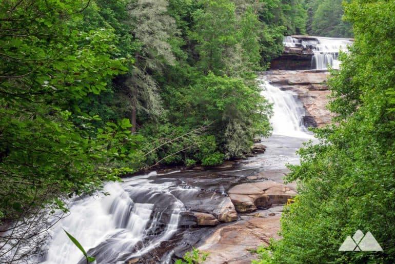 Triple Falls in North Carolina