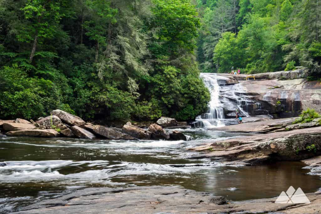 Triple Falls in North Carolina