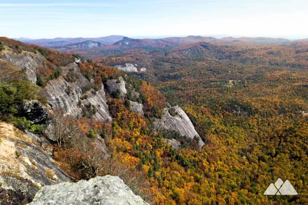 Whiteside Mountain in Highlands, NC