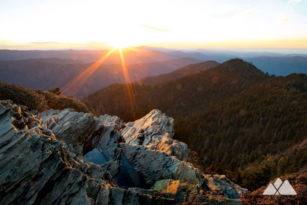 Mount LeConte: hike to stunning sunset views at Cliff Top near the mountain's summit