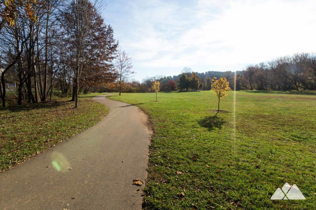Carrier Park: French Broad River Greenway