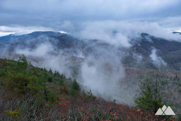 Yellow Mountain Trail in NC