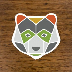 Asheville Trails Bear Sticker