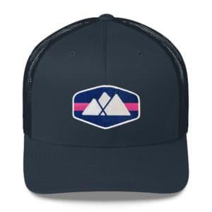 Mountain Logo Trucker Hat - Amicalola