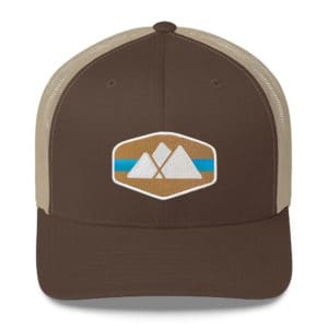 Mountain Logo Trucker Hat - Catawba