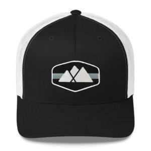 Mountain Logo Trucker Hat - Raven
