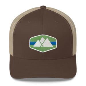 Mountain Logo Trucker Hat - Roan