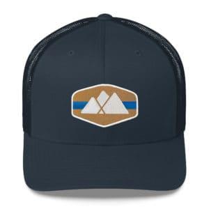 Mountain Logo Trucker Hat - Sawnee