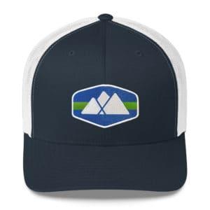 Mountain Logo Trucker Hat - Tanawha