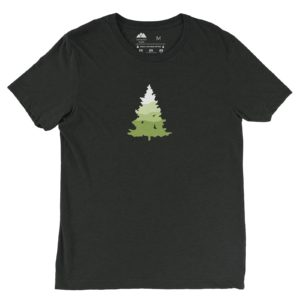Asheville Trails Southern Pine Shirt, Charcoal