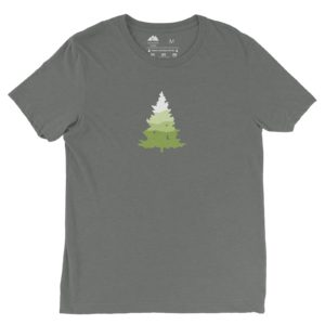 Asheville Trails Southern Pine Shirt, Granite