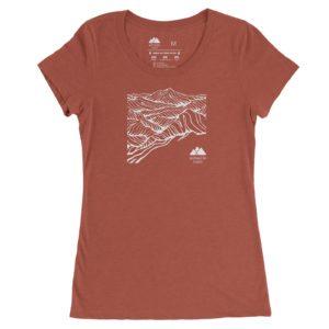 Asheville Trails Women's Mountain Shirt, Clay