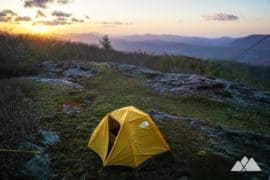 Our favorite backpacking trails near Asheville, NC