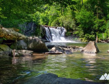 Abrams Falls in Cades Cove