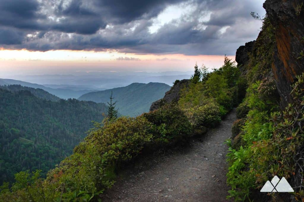 Charlies Bunion: Appalachian Trail from Newfound Gap